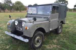 1951 Land Rover Series 1 80inch.