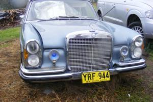 1970   MERCEDES 300SEL  3.5 V8 109 body