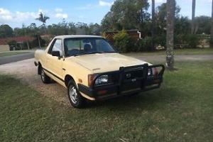 Subaru Brumby 1984 - 4WD / 4 X 4 ute - suit restoration