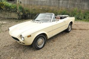1977 Fiat 124 Spider 1800 US Import New Roof Just Serviced MOT'd Photo