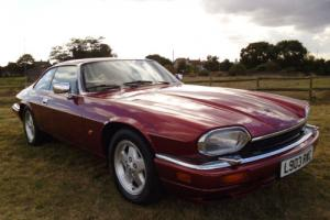 1993 JAGUAR XJ-S 4.0 AUTO RED ONLY 39K MILES STUNNING EXAMPLE