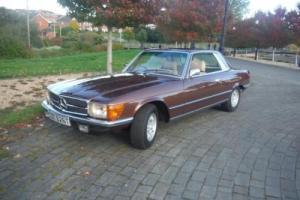 MERCEDES 450SLC WONDERFUL OLD CAR,