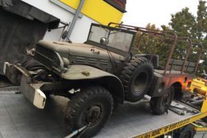 Dodge WC 52 WC52 1944  2 world war vehicle ww2 Photo