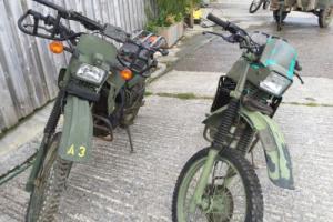 US Army Kawasaki KL250 Photo