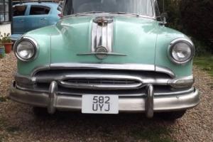 1954 Pontiac Starchief 4dr Sedan Mint Green NEW Interior Beauitful Condition