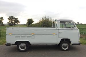 VW VOLKSWAGEN T2 EARLY BAY WINDOW SINGLE CAB PICK UP SC * 1971 RHD FULL MOT 1600