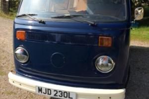 VW camper van baywindow 1972
