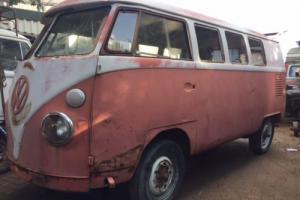 1964 VW Split Screen Camper Bus T2 Splitty Project Photo