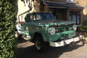 1965 Dodge W300 Power Wagon american pickup truck