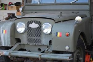 fabulous 1953 Series 1 One 80 LHD all alu and running Land Rover