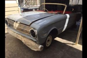 1963 US Ford Falcon Convertible Coupe Project Not XM / XP Coupe Nor Mustang
