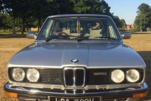 1979 BMW E12 520 auto saloon in Polaris silver stunning classic car