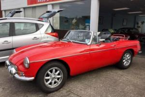 MGB Roadster 1.8  ,  Overdrive , 6 months warranty and 12 months Mot Photo