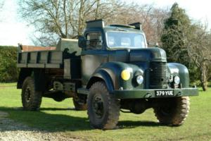 1953 Commer Army Tipper Truck Q4 Photo
