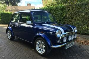 1999 V  MINI COOPER SPORT IN TAHITI BLUE BLACK LEATHER BEAUTIFUL CAR