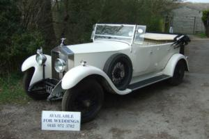 1933 vintage Rolls Royce tourer 20/25 - ideal wedding car