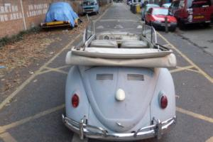 1963 VW beetle KARMANN Convertible restoration project