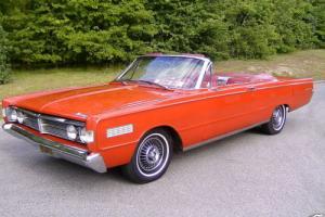Muscle 1966 Mercury Monterey Convertible Big Block 390 cu in California Car