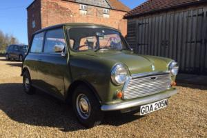 Classic Mini 850 / Austin / MK3 / Original / Green Photo