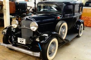 1932 Ford Deluxe Sedan - 2nd owner car