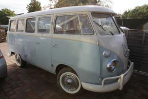 Volkswagen 15 Window Splitscreen Campervan 1970