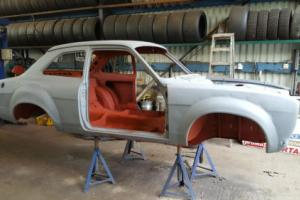 FORD MK1 ESCORT STEEL BIG WINGED SHELL, EXCELLENT, RACE, RALLY, TRACK , ROAD.