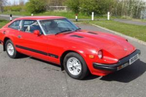 1982 DATSUN 280 ZX RED -  MOT AND UK REGISTERED