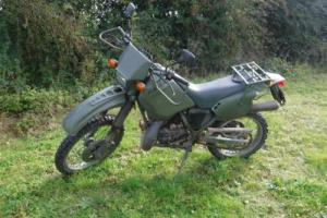 1994 125cc Cagiva Motorbike Ex French Military Army Motorcycle NOT MT350 Photo
