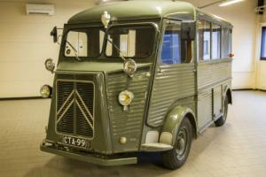 Beautiful 1953 split screen Citroen HY camper van.