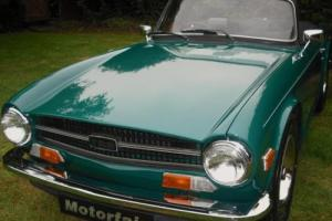 1973 TRIUMPH TR6 2.5 PI,HOME MARKET VEHICLE,OVERDRIVE,MOHAIR ROOF, FULL TONNEAU Photo