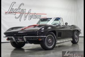 1967 Chevrolet Corvette Convertible Numbers Matching Photo