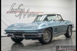 1967 Chevrolet Corvette Convertible Numbers Matching