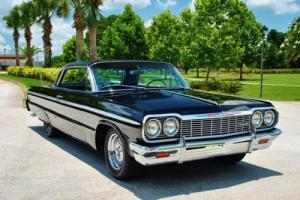 1964 Chevrolet Impala SS Rare 409 Big Block Buckets Console Factory A/C Photo