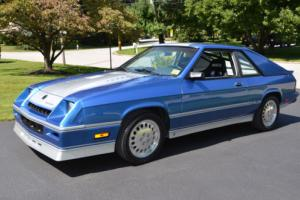 1986 Dodge Charger Shelby Charger