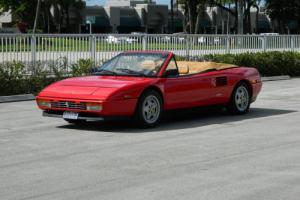1989 Ferrari Mondial MONDIAL T CABRIOLET 300HP 348 ENGINE