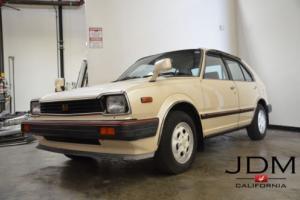 1982 Honda Civic E-ST