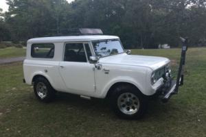 1963 International Harvester Scout SCOUT 80