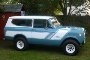 1980 International Harvester Scout traveltop