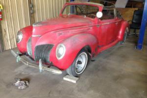 1939 Lincoln MKZ/Zephyr Zephyr