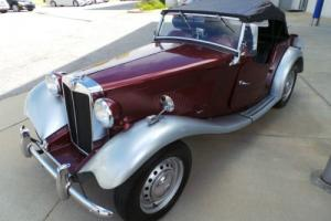 1952 MG T-Series TD Photo