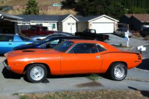 1970 Plymouth Barracuda tribute 440