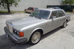 1983 Rolls-Royce Silver Spirit/Spur/Dawn SILVER SPIRIT