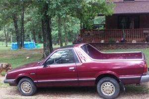 1986 Subaru Brat 4x4 1986