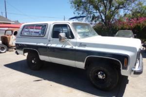 1979 Chevrolet Blazer BLAZER