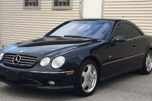 2001 Mercedes-Benz CL-Class CL 55 AMG