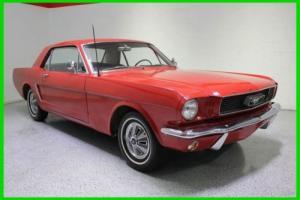 1965 Ford Mustang I6 MANUAL
