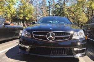2014 Mercedes-Benz C-Class C63 AMG COUPE PANO SUNROOF NAV