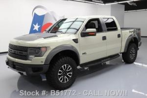 2013 Ford F-150 SVT RAPTOR CREW 4X4 6.2 NAV SUNROOF