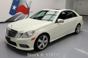 2010 Mercedes-Benz E-Class E350 SPORT SEDAN P1 SUNROOF NAV