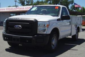 2011 Ford F250 Service Bed